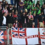 Numerous London saints in crowd last Thursday