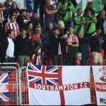 Numerous London saints in crowd last Thursday